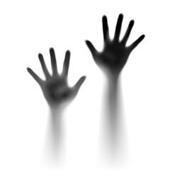 Two open hands