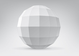 Sphere with rectangular faces
