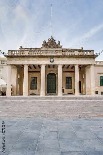 Main Guard building in Valletta, Malta