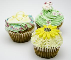 Sun Flower Cupcake