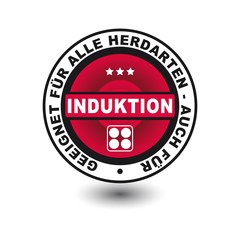 Button Icon Induktion