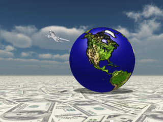 Earth Focus Americas on Dollar Surface