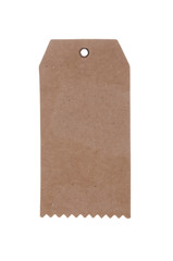 blank cardboard price tag label