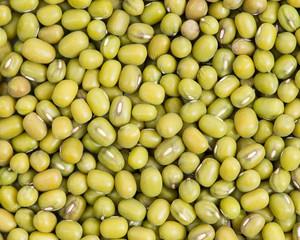 Green mung beans background