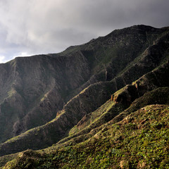 Montagne Teide Tenerife îles Canaries fond