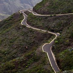 Route de montagne Tenerife îles Canaries