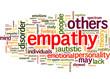 Empathy (english tag cloud)