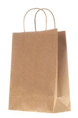 Brown paper bag shopping