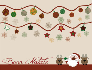 cartolina buon natale