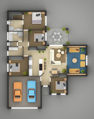 Floor Plan Of Residential House6