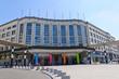 Leinwanddruck Bild - Brussels Central Station
