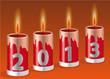 Kerzen - 2013 Hintergrund