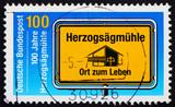 Postage stamp Germany 1875 Herzogsagmuhle, Social Welfare Organi poster