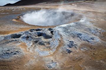 krafla geothermal activity