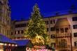 Leinwandbild Motiv Innsbruck Weihnachtsmarkt 01
