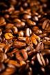 Macro photo of coffee beens, low depth of focus