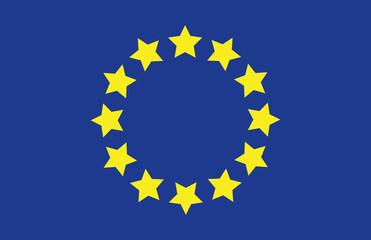 Vektor Europäische Union Flagge