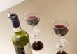 Verres de vin rouge