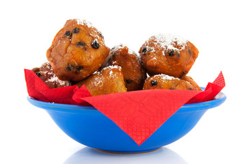 Dutch oliebollen for new years eve