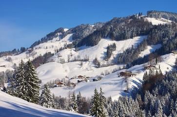 Alpen im Winter - Alps mountains in winter 01