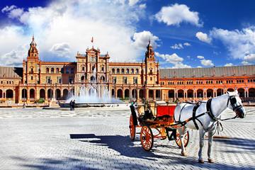 Spain,Seville, plaza Espana