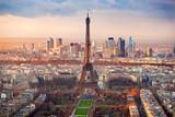 Fototapety Paris at sunset