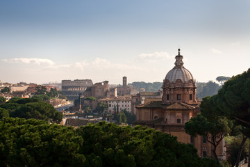 Panorama of Old Rome