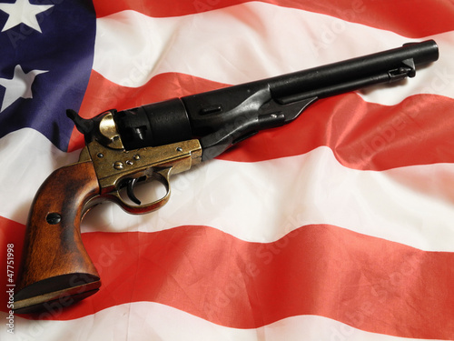 Old Glory & Pistol
