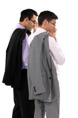 businessmen wearing glasses