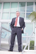 Handsome senior businessman in a suit