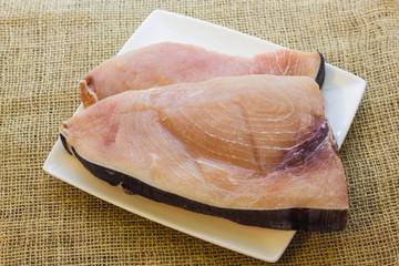 Slice of swordfish