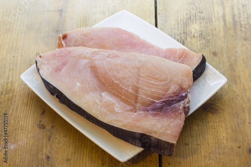 Slice of swordfish