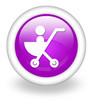 """Violet Icon """"Stroller"""""""