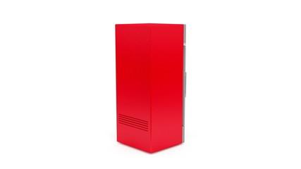 Upright market fridge