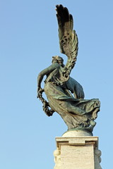 Bronze statue of an Angel, Rome