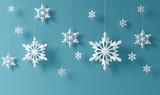 Fototapety snowflakes