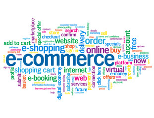 """E-COMMERCE"" Tag Cloud (add to cart buy online order now button)"