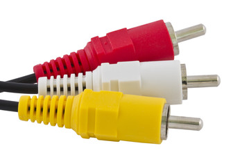 Triple RCA connector