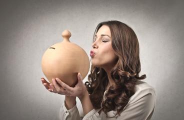 Kissing the Money
