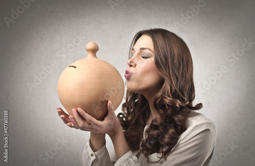 Kissing the Money