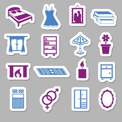 bedroom stickers