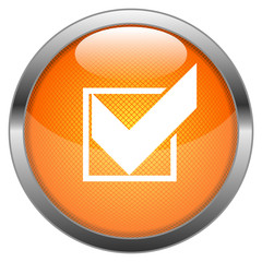 Vector Button Checkmark