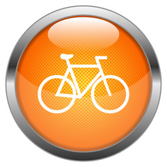 Vector Button Bicycle