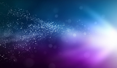 Colour glittering background
