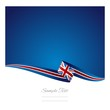 British flag abstract color background vector