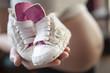 Ciąża-dziecięce buciki