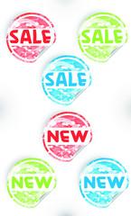 Sale & new label