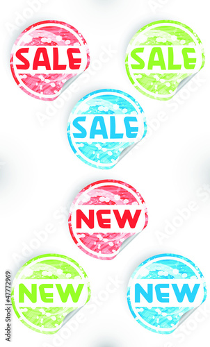Sale & new label