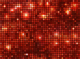 Horizontal red   mosaic