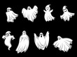 Mystery halloween ghosts